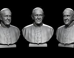 Pope Francis v2 3D printable model