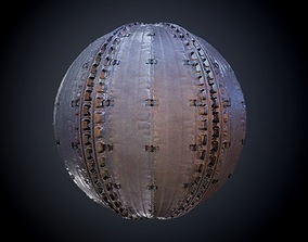 3D model Sci-Fi Military Seamless PBR Texture 29