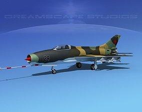 3D model MIG-21 Fishbed V07