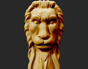 3D printable model Lion Head LH-001