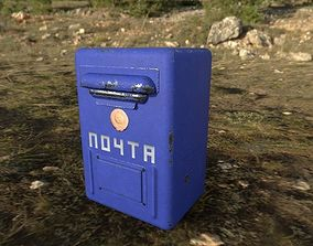 Mailbox USSR 3D model
