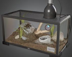 CLA - Tarantula Tank - PBR Game Ready 3D model