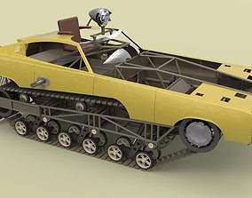 3D model Peacemaker from movie Mad Max Fury
