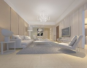 Modern Drawing Room - 05 3D