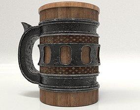 3D asset Beer Mug