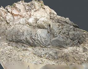 Photoscan Beach Rock 0016 only HighPoly Mesh 16K 3D model