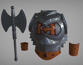 He-Man Battle armor real life 3D print model