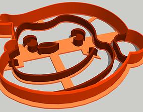 Monkey Cookie Cutter 3D print model