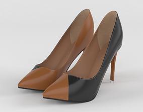 lady Women Shoes 3D model