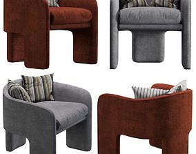 3D model Milo baughman armchair
