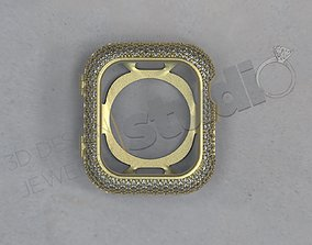 Luxury Apple Watch series 5 40mm 3D printable model 2