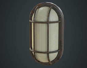 Bulkhead Light 1C 3D model