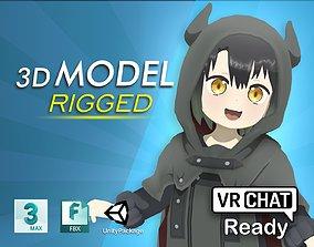3D model Somali to Mori no Kamisama VRChat