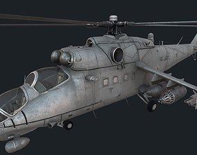 Mi-35m 3D asset game-ready