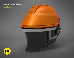 3D print model war Fennec Shand helmet