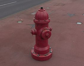 Fire hydrant 3D model PBR