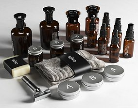 collection Body Care Products 12 3D model