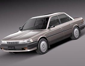 Toyota Camry 1987-1991 3D model