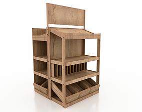Shelf 3D model 1 products