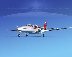 3D Beechcraft B99 Johansen Air