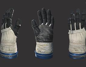 3D asset The astronauts glove