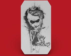 Joker 3d picture volumetric image 3d model picture print