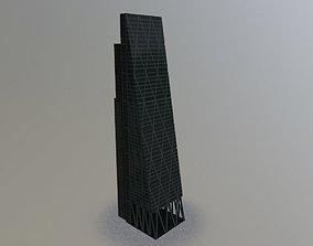 London Leadenhall Skyscraper 3D asset