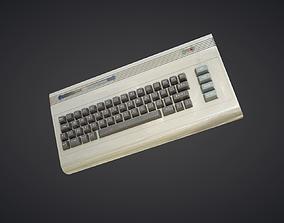C64 Keyboard 3D model