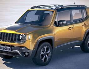 3D Jeep Renegade 2019