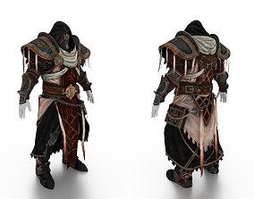 3D asset Priest Full Body Armor