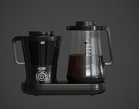 3D asset low-poly Dash Rapid Coffe maker