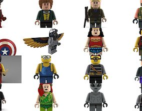 Lego characters megapack 3D