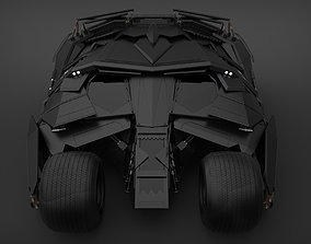 knight Batmobile 3D model