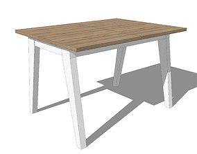 Table Sosnowy Las 3D