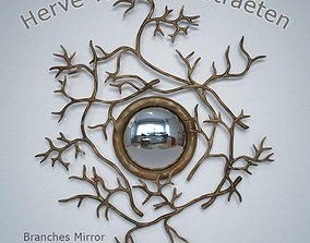 3D model Branches mirror