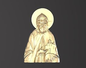 Russian icon Holy Daniill 046 3D print model