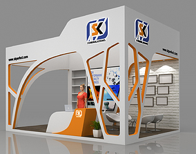 D Exhibition Stand Free Download : Exhibition 3d models cgtrader