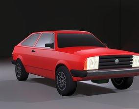 3D model 80s Hatchback