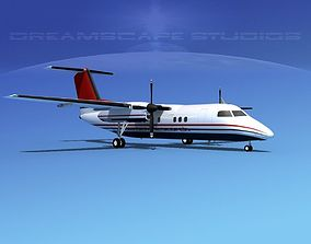Dehaviland DHC-8 100 Jensen Research 3D