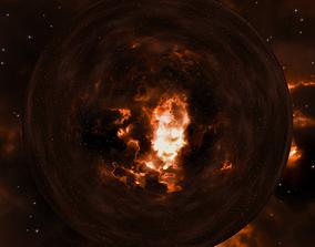 Nebula Space Environment HDRI Map 001 3D