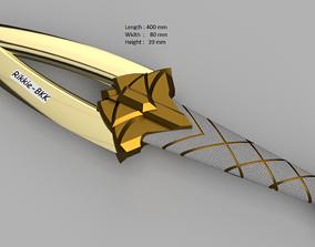 LEAGUE OF LEGENDS AKALI DAGGER KDA 3D print model