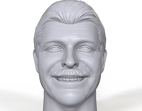 Raymond Rougeau 3D printable portrait sculpt