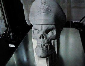 3D printable model RED SKULL