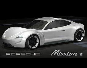 3D model Porsche Mission e
