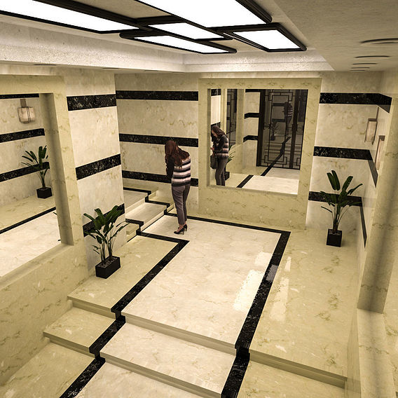 Design for Entrance ❤️ #El_Nile