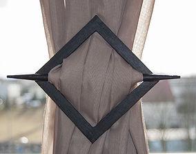 3D print model Curtain buckle
