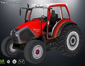 Tractor 3D model VR / AR ready