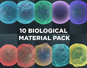 3D model Biological Material Pack 1