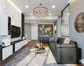 3D Apartment interior design home