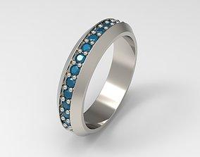 3D print model David Yurman Streamline Band Ring Eu 58